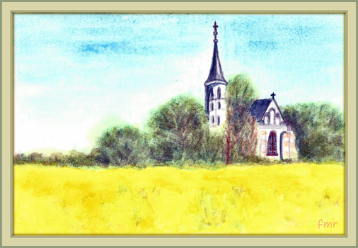 Country Church by fmr0