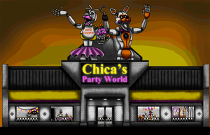 Chica's Party World Outside View by Playstation-Jedi
