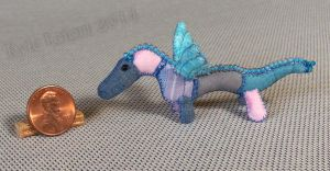 Mini Patchwork Dragon No. 1 by Kyle-Lefort