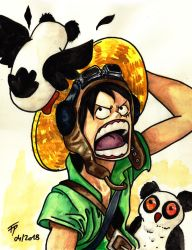 Op Attack Of The Panda Owls by Eirieniel
