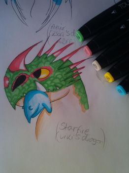 for TothViki (Touch Markers) by Toothyna