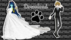 The corpse Bride- Miku and Len Download by Espirea