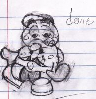 Goombario and Mallow by ZeoLightning