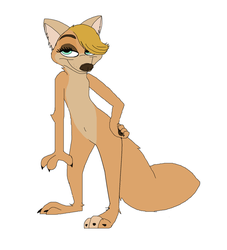 Zootopia| new character without clothing by TheWarriorDogs