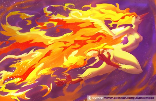 Moltres by playfurry