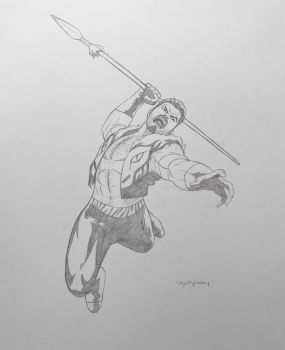 Kraven the Hunter (Sergei Kravinoff) - pencils by arunion