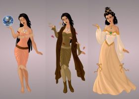 Pocahontas Wardrobe in Goddess Scene by autumnrose83