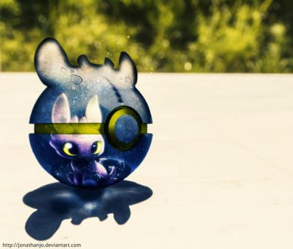 The Pokeball of Toothless by Jonathanjo