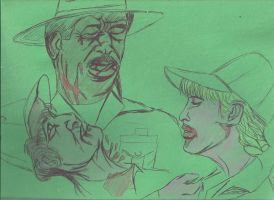 Zombie Private Benjamin by JohnReynolds