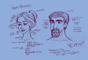 Hans' Parents by s0alaina