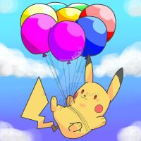 Flying Pikachu by char1cific