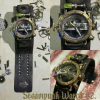 Steampunk Watch #2 by PlasticSurgen