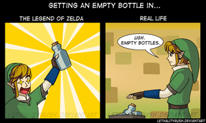 Empty Bottle Reactions by Lethalityrush
