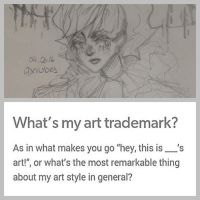 what's my art trademark ? by qxrubes