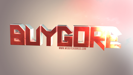 Entry for Buygore Competition by Aelthal95