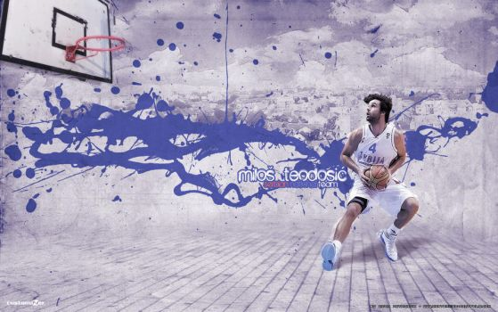Milos Teodosic by Zile12