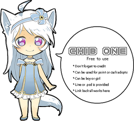Chibi Base One [Free to Use] by BaseAdopts