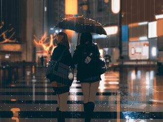 Rainy weather by snatti89