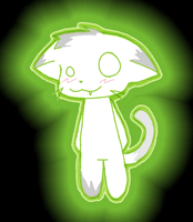 Radioactive Kitteh by Sparkplug223