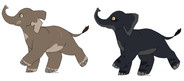 Elephant Adopts -- Closed by Witch-Doctais46