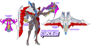 Decepticon Starscream by Tyrranux