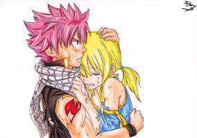 Natsu And Lucy COPIC by TobeyD