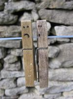 Troubled Pegs by melemel