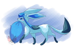 Glaceon by FENNEKlNS