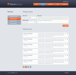 Administration design by exarion-cz