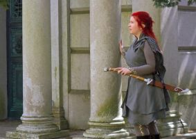 Lorien Warden Cosplay-The Hythe on the Silverlode by celticbard76