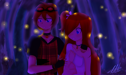 [Contest]Kyle and Skyler by WaterFox-Studios