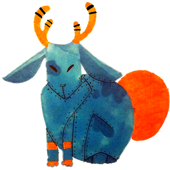 Jackalope by PatchLamb