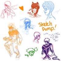 Sketch Dump and Stream Requests by spacendisgrace