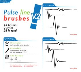 pulse line brushes V2 by pindlekill