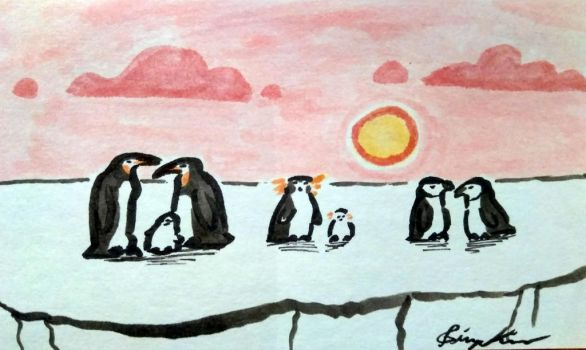 Penguins by ImHereToDie