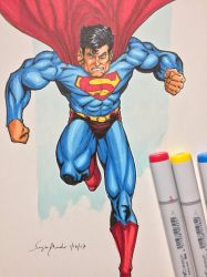 Superman by amonkeyonacid