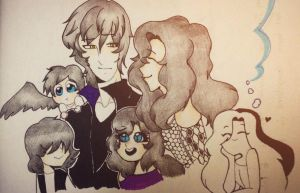 A happy family by Julithekawaiiloser