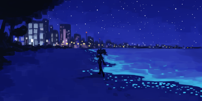 Lonely Night by Iku-T0