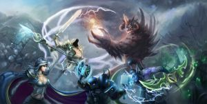 Heroes Ofthe Storm by MarsFoong