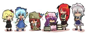 touhou 6- 1 to 5 by T3hb33