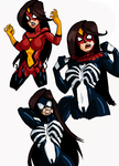 Spider-woman commission by kaioutei