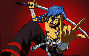 Lord Kamina Wallpaper 1 by PaksiwIrongbuang
