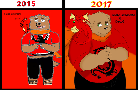 Then and Now 2 by BluMasterBlade