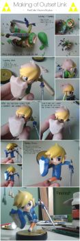 Making of my Outset Island Toon Link Custom Amiibo by PixelCollie