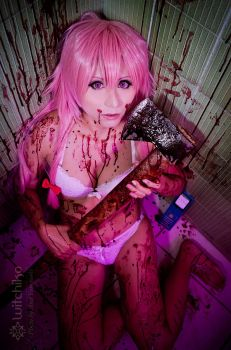 Yuno Gasai:::::: by Witchiko