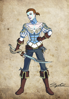 my Fable III princess by Sigisfeld