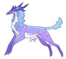 Lilac Sky Regnant Auction [CLOSED] by Feravyre