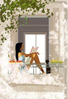 The Student. by PascalCampion