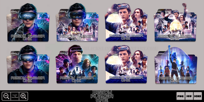 Ready Player One (2018) Folder Icon Pack by Bl4CKSL4YER