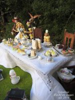 Representation scene 1:12 scale : Tea Party by Valentina-PinkCute